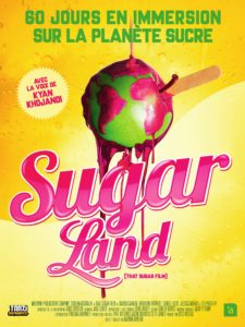 Sugarland Film sucre projection sugar